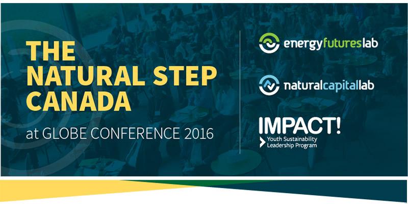 The Natural Step Canada at Globe